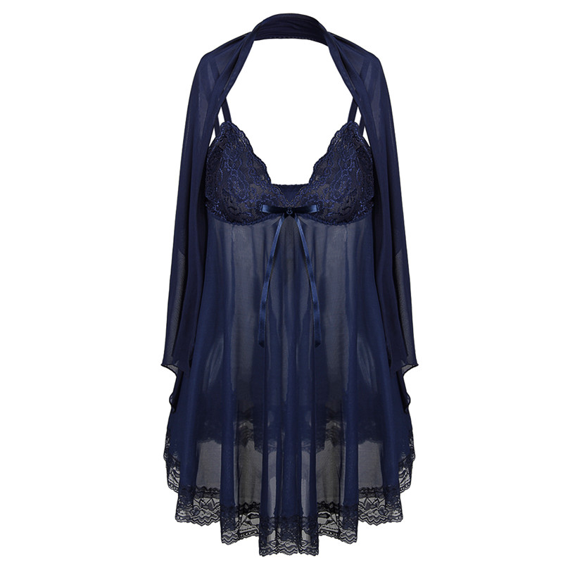 Porn Sex Nightdress Plus Size Sexy Lingerie Womens Erotic Lingerie Baby Dolls Langerie Babydoll Sexy Costumes Underwear Negligee