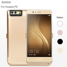 ZUCZUG For Huawei P9 6500 mAh Power Bank Phone Case Ultra Thin Slim External Pack Backup Rechargeable Battery Charger Case Cover