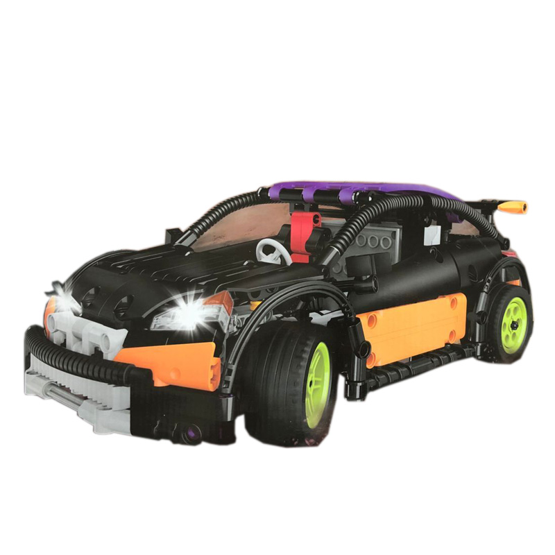 20053 Remote Control Genuine Technic Series The Hatchback Type R Set MOC-6604 Building Blocks Bricks Educational Toys
