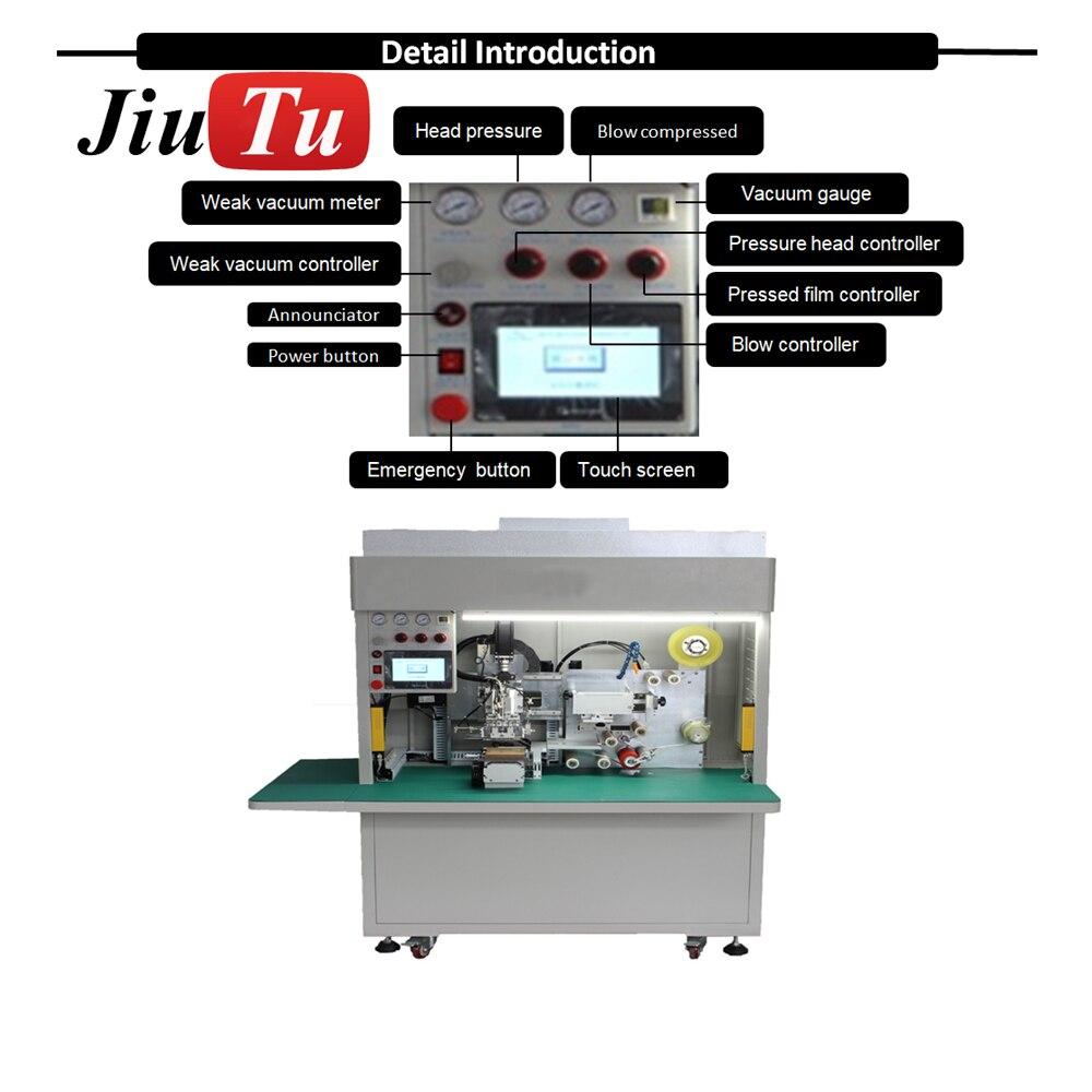 Full Automatic Film Lamination Machine Mobile LCD Panel Glass OCA Film Polarizer Film Phone Repair Machine jiu(15)