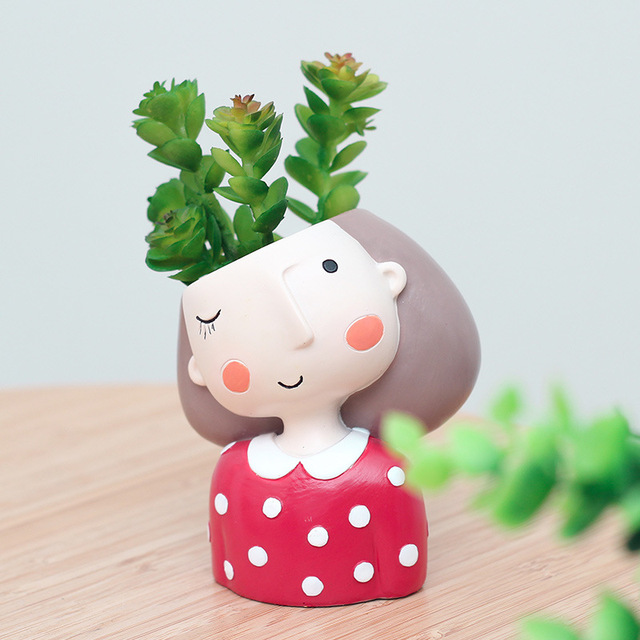 4pcs Set Creative Design Succulent Pots