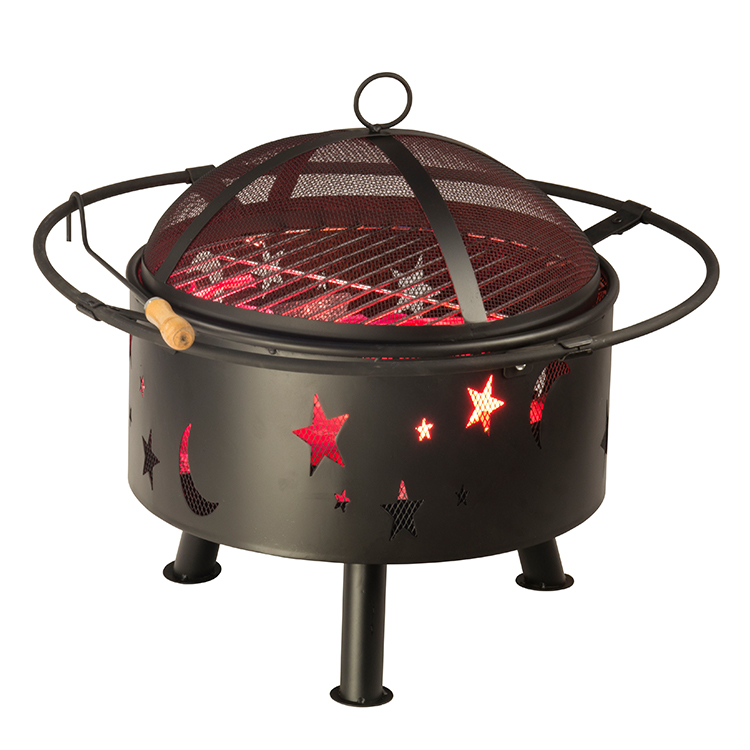 OutdooFIRE PIT LET YOUR WINTER GET WARMER