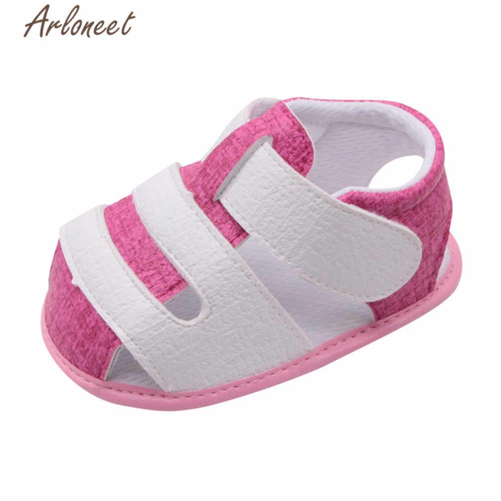Arloneet 2018 Pasgeboren Baby Schoenen Babyschoenen Cartoon Schoenen Crib Bebe Meisjes Jongens Prinses Ballet Zolen Anti-Slip Schoeisel
