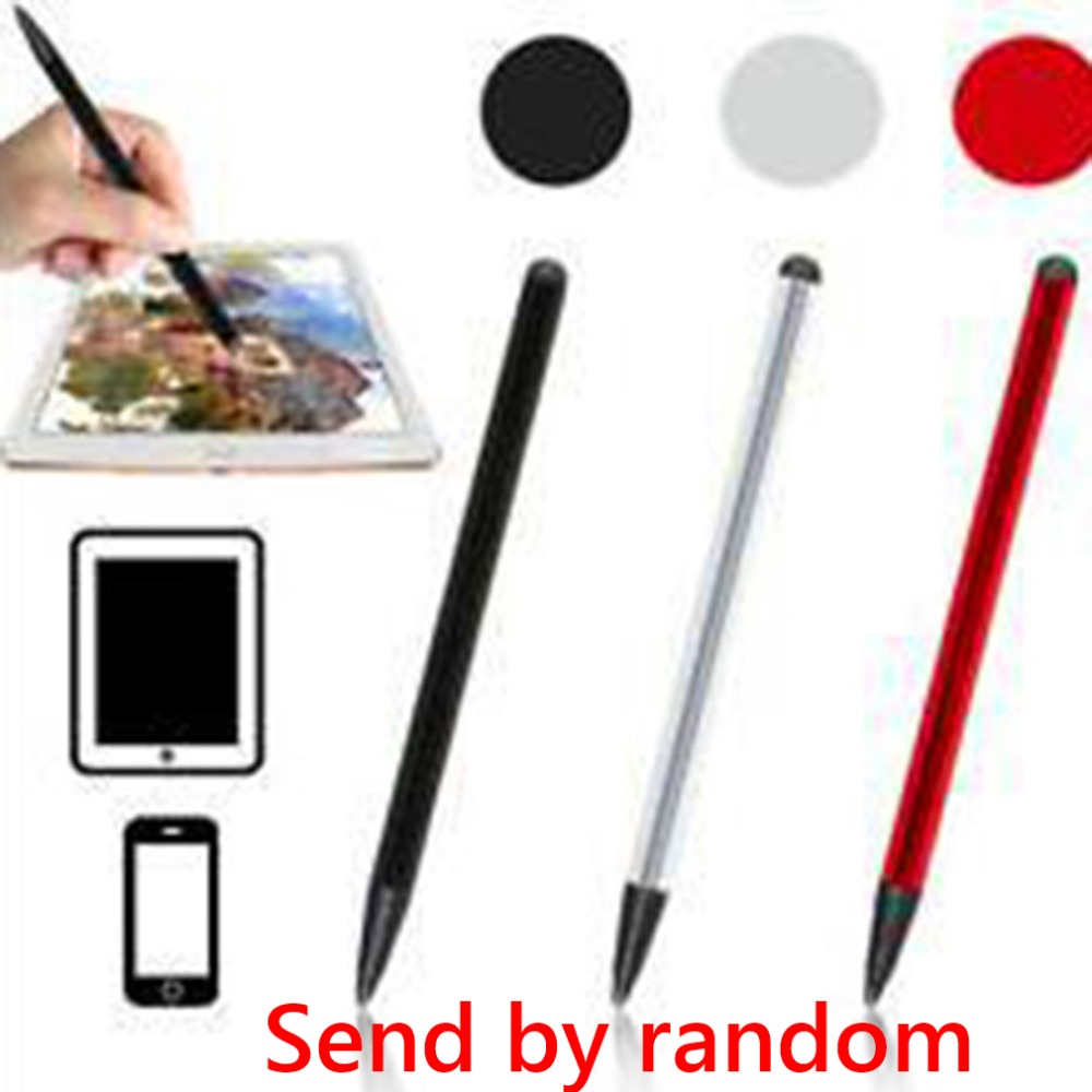 Universal Stylus pen Capacitive Screen Resistive Touch Screen Stylus Pen For Mobile Phone Tablet PC Pocket PC Send by random