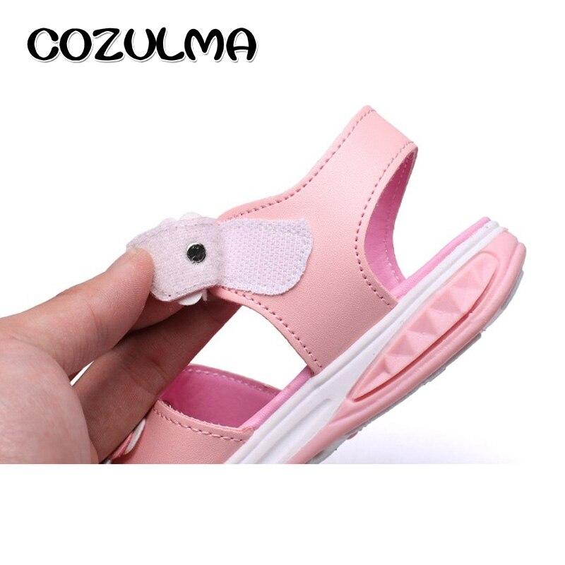 COZULMA meisjes bloemen sandalen kinderen strand slippers schoenen - Kinderschoenen - Foto 3