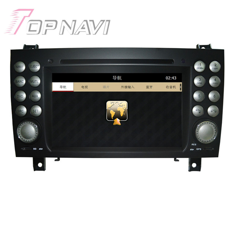 7 pulgadas Wince Radio Estereofonia Del Coche Para Benz SLK-171 (2004 2005 2006-
