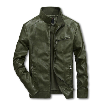 Men Motorcycle Leather Jackets 4XL 5XL Man Pu Streetwear Coat Mans Bomber Suits Windbreaker LBZ32 1