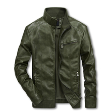 Men Motorcycle Leather Jackets 4XL 5XL Man Pu Streetwear Coat Mans Bomber Suits Windbreaker LBZ32