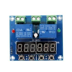 Image 2 - XH M452サーモスタット温度湿度制御温度計湿度計コントローラモジュールdc 12ボルトledデジタルディスプレイデュアル出力