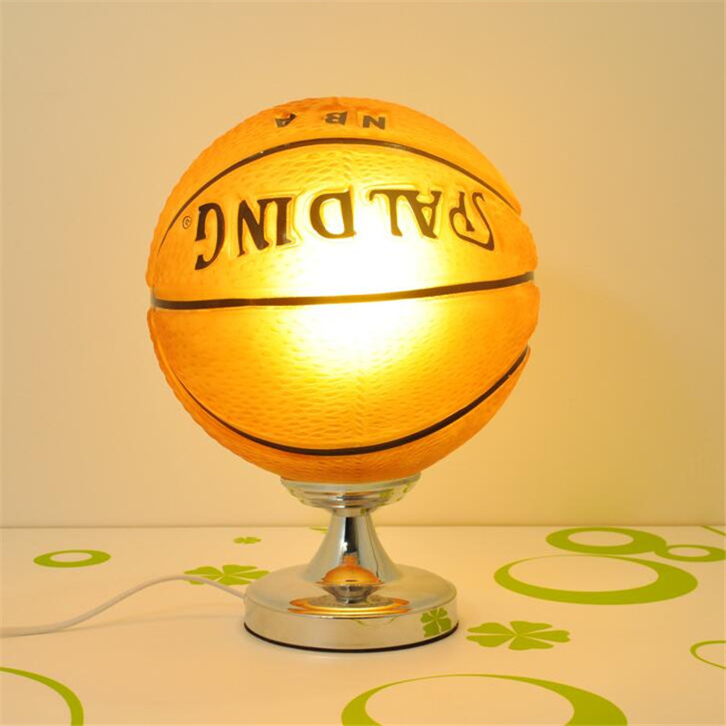 Table lamps glass lamp shades football for boys room with shade table lamps glass lamp shades football for boys room with shade bedside ball bed led childrens light lampara abajur para quart in table lamps from lights mozeypictures Images