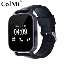 ColMi Smart Uhr VS19 Sync Notifier Schrittzähler Bluetooth Konnektivität Kompatibel Samsung Android Telefon Arc Bildschirm Smartwatch
