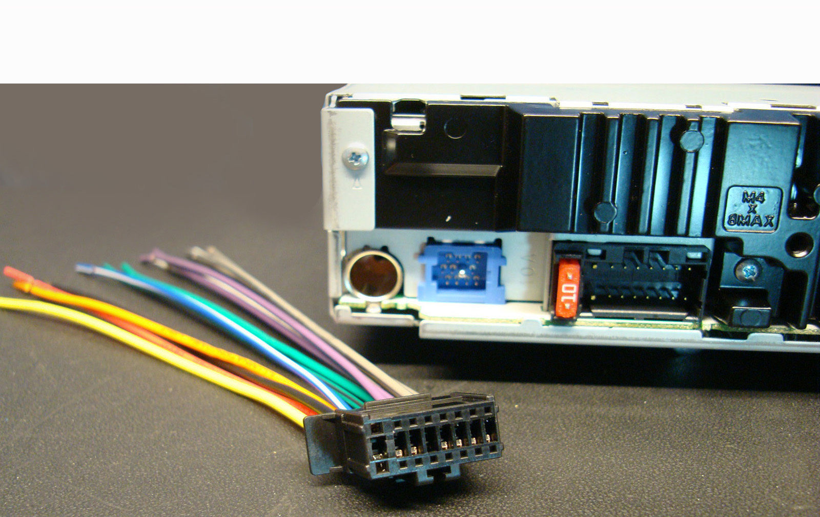 US $0.5 |PIONEER RADIO PLUG STEREO WIRE HARNESS DEH 2200UB 1300MP P4300UB Pioneer Deh Wiring Harness on pioneer head unit wiring harness, pioneer deh-x6500bt wiring-diagram, pioneer deh 6400bt installation, pioneer deh-1300mp, pioneer cd player wiring harness, pioneer wiring harness colors,