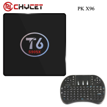 Chycet T6 TV Box Amlogic S905X Quad Core TV Box 1 8GB 2 16GB WiFi Smart