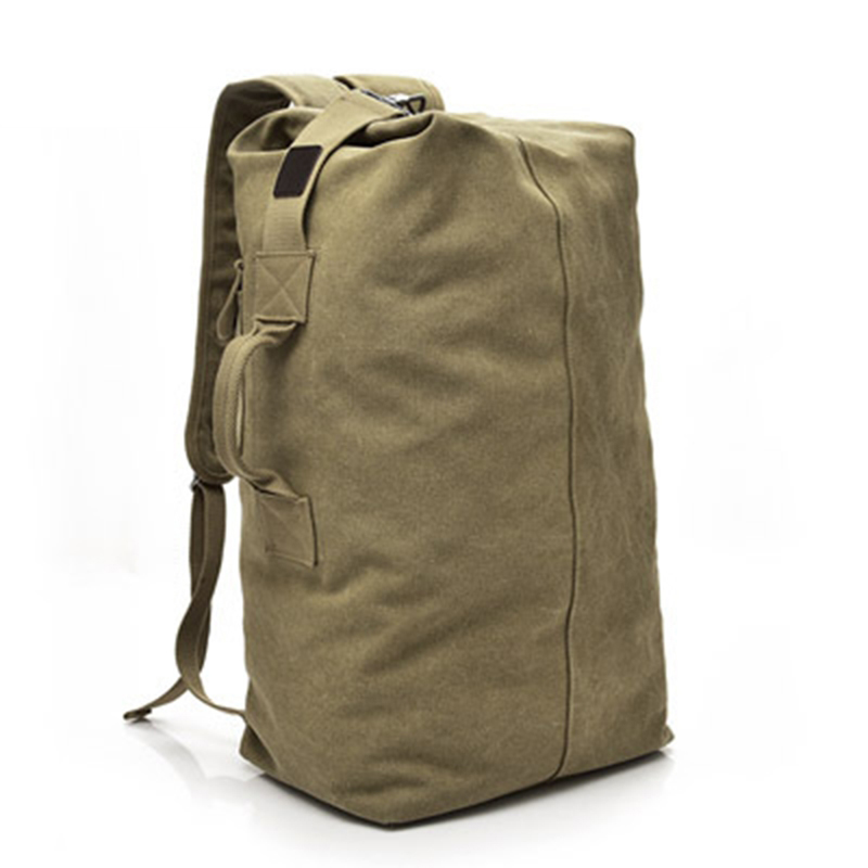 Outdoor Sport Training Bag Multifunctional Military Tactical Backpack Male Canvas Backpack Large Capacity Bucket Army Travel Bag