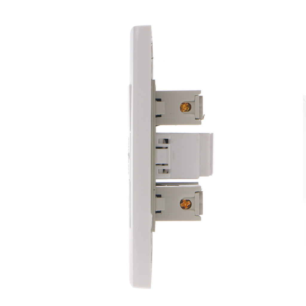 16A Wall Double Italian/Chile Plug Power Socket Adapter Dual USB Ports Panel 5V 1A G07 Great Value April 416A Wall Double Italian/Chile Plug Power Socket Adapter Dual USB Ports Panel 5V 1A G07 Great Value April 4