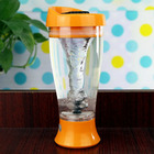 5 Colors Electric Whey Protein Powder Shaker Blender Water Bottle Automatic Movement Fruit Infuser Bottle 400ml BPA free