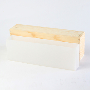 Image 4 - סיליקון סבון עובש גבוה ורזה כיכר עובש עם עץ תיבת DIY בעבודת יד סבון ביצוע כלי