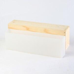 Image 4 - Muffa del Sapone del Silicone Alto e Magro Pagnotta Stampo con Scatola di Legno FAI DA TE Sapone Fatto A Mano Strumento di Creazione di gioielli