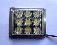 High Intensity DC12V 9W Led Surfacemounting Emergency Lights Led Warning Lights Headlight Brake Lights Stop Lights