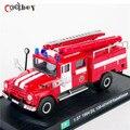 1:57 Масштаб Пожарная машина Модели 1964 Зил 130-431410 Казахстан Diecast Автомобилей Автомобилей Коллекции