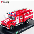 1:57 Scale Fire Truck Models 1964 ZiL 130-431410 Kazakhstan Diecast Car Vehicles Collection