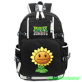 Game Plants VS Zombies Anime Backpack Boys Sun Pumpkin Flower Cartoon Backpacks Rucksack Schoolbag Laptop School Shoulder Bag