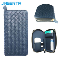 PU Leather Box Holder Storage Full Protective Carrying Case For IQOS Electronic Cigarette Multifunction Zipper Wallet
