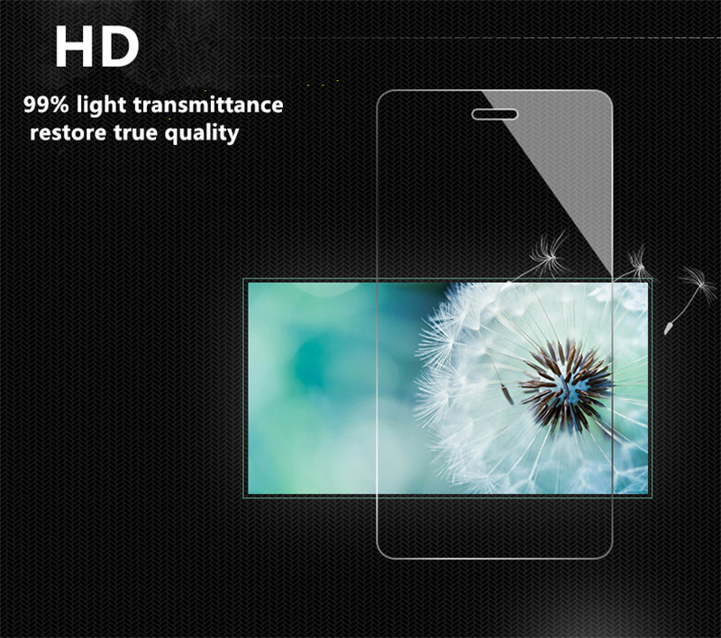 Full Cover Tempered Glass For Sony Xperia R1 / R1 Plus / R1Plus Dual SIM Screen Protector Color Black Protective Film Guard