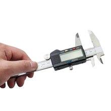 Cheaper CE Proved 6 Inch 150mm Electronic LCD Digital Vernier Caliper Gauge Ruler Stainless Steel Vernier Caliper