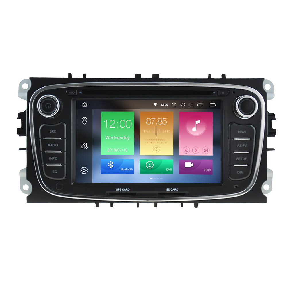 Octa Core Android 9 0 Car Radio GPS Navigation Stereo For FORD Focus 2 2008 2010 Mondeo S MAX Auto Audio Ram 4g 64g in Car Multimedia Player from Automobiles Motorcycles
