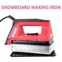 Tragbare Snowboard Wachsen Eisen Single Board Doppel Bord Digital Display Hohe Präzision Temperatur Control Wachsen Eisen 220V