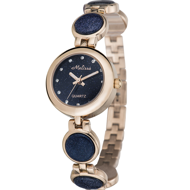 Switzerland Melissa Women s watches luxury quartz waterproof Fashion Bracelet Watches Ladies Swarovski Crystal Relogio Feminino