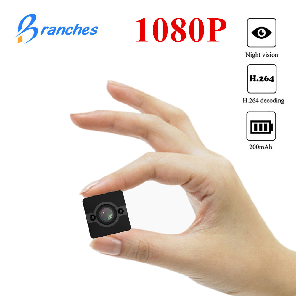 SQ12 Mini caméra Étanche degré objectif grand-angle HD 1080 P Large Angle SQ 12 MINI Caméscope DVR SQ12 Sport vidéo caméra SQ11