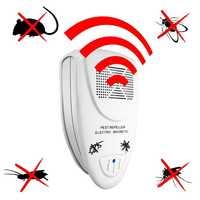 Ультразвуковой Отпугиватель вредителей электронные вредители управление отталкивает мышь комаров тараканов убийца для умного дома детей ...