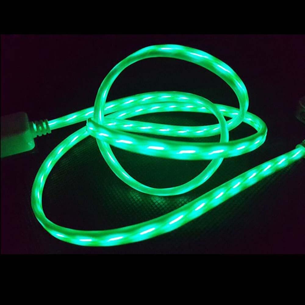Flexible Led streifen USB Ladekabel für iPhone und Android Ladung ...