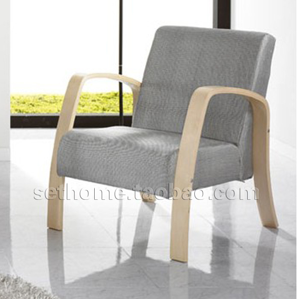 Ikea Wind Armchair Wood Sofa Bentwood Chair Armrest Small Apartment Minimalist Scandinavian Comfort Multicolor In Hotel Sofas From Furniture On
