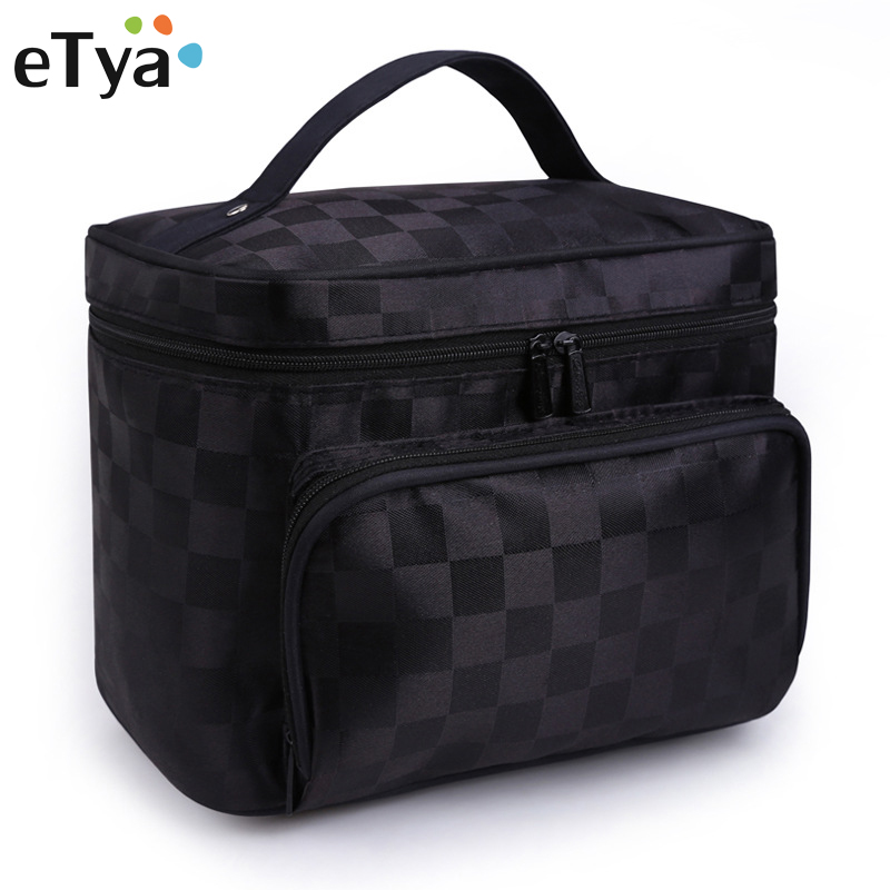 Big Capacity Women Cosmetic Bag Cosmetics Organizer Travel Necessaries Waterproof Makeup Bag Multifunction Toiletry Make Up Bag