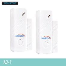 HOMSECUR A2 1 2pcs 433MHz Wireless Door Window Sensors For HOMSECUR Alarm System