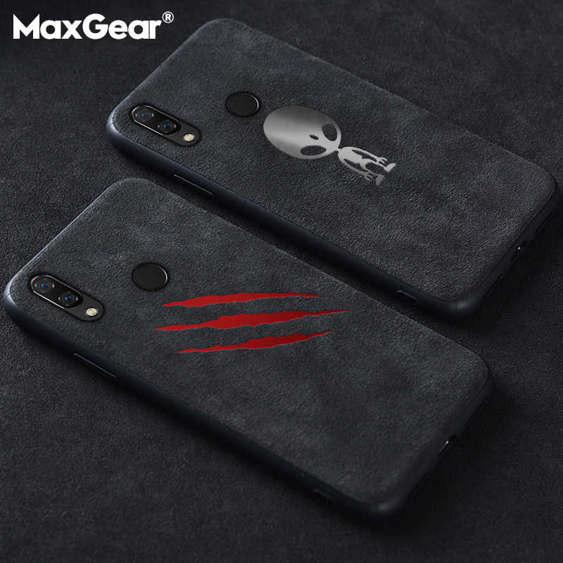 Luxe Suede Leather Case Voor Huawei P20 P30 Mate 20 Pro Matte Soft Cover Nova 3 3i 4 5 Honor 10 Lite 20 8X Behuizing Shell Coque