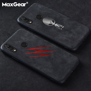 Luxury Suede Leather Case For Huawei P20 P30 Mate 20 Pro Matte Soft Cover Nova 3 3i 4 5 Honor 10 Lite 20 8X Housing Shell Coque(China)