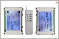 12V 10A relay 12Ch wireless Programable RF Remote Control Transmitter +2pcs Receivers Switch Relay Receiver Module/Smart home