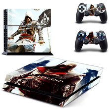 Vinly BE A LEGEND Skin Cover Sticker Cover for Sony PS4 PlayStation 4 and 2 controller skins