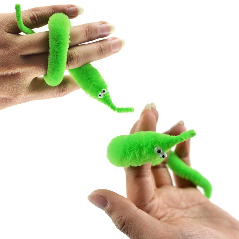 1 piezas de magia chueco gusano mover mar en movimiento caballo truco juguete Caterpillar magia gusano y gusano de Juguetes