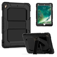 For Funda IPad Air 2 Cover Hot Sales High Impact Kids Hybrid Combo Armor Shockproof Stand