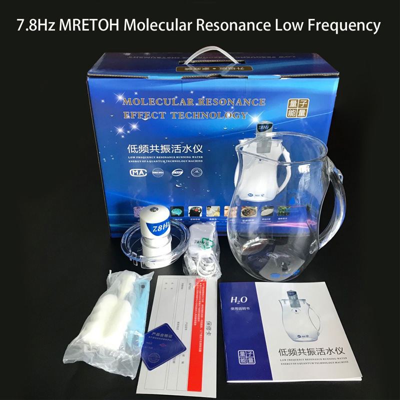 MRETOH 7.8Hz Ressonância Molecular Da Água Ativador de Reduzir A pressão arterial elevada, açúcar elevado no sangue, tomada de fábrica de gordura arterial elevada