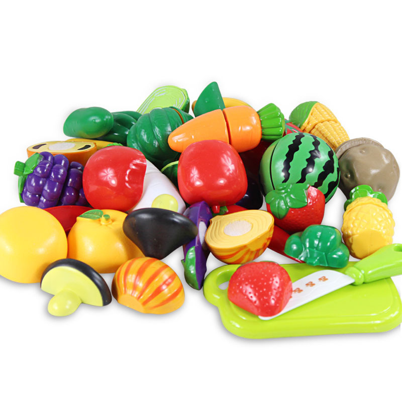 Big sale, Classic Toys, Pretend Play, kitchen cutting game, cut fruit, vegetables, cut,  ...