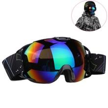 Double Lens UV400 Big Ski Mask Glasses Skiing Goggles Anti-fog Ski Snowboard Snowboarding Winter Ice Snow Sports Eyewear