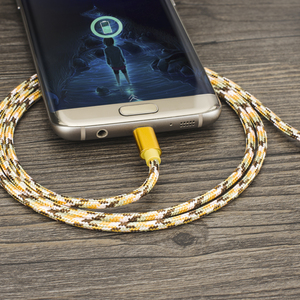Image 5 - KEYSION Micro USB Cable 2.4A Nylon Fast Charge USB Data Cable for Samsung Xiaomi Tablet Android Mobile Phone USB Charging Cord