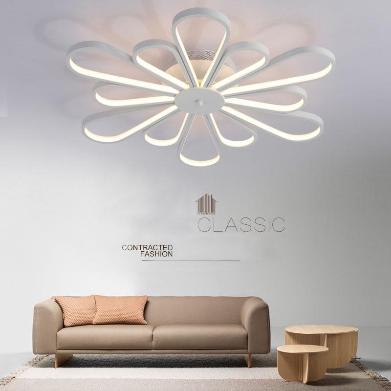 Led Round New Ceiling Lamp Living Room Lights Modern Simple Atmosphere Home Room Bedroom Lights Hall Lighting