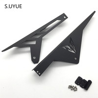 S UYUEFor Yamaha MT09 Tracer FJ09 Chain Guard Cover Aluminum Motorcycle Accessories MT 09 MT 09